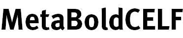 MetaBoldCELF-Roman