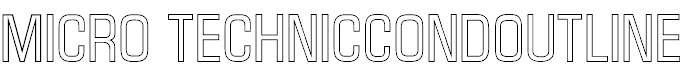 MicroTechnicCondOutline