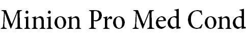 MinionPro-MediumCn