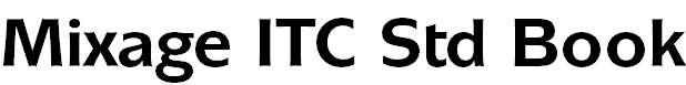 Mixage ITC Std Bold