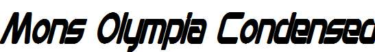 Mons-Olympia-Condensed-Bold-Italic