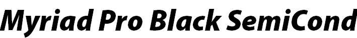 MyriadPro-BlackSemiCnIt