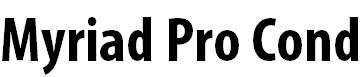 MyriadPro-BoldCond