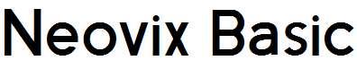 Neovix-Basic-Bold