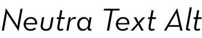 NeutraText-BookItalicAlt