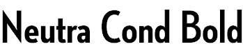 NeutrafaceCondensed-Bold
