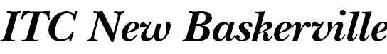 NewBaskerville-BoldItalic
