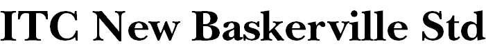 NewBaskervilleStd-Bold