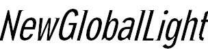 NewGlobalLight-Italic