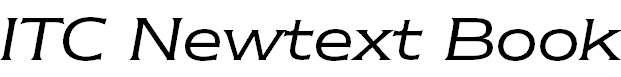 NewtextITCbyBT-BookItalic