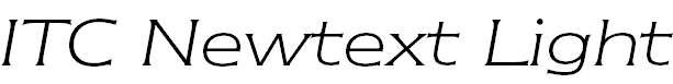 NewtextITCbyBT-LightItalic