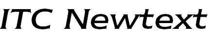 NewtextITCbyBT-RegularItalic