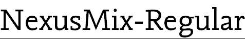 NexusMix-Regular