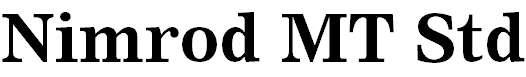 NimrodMTStd-Bold