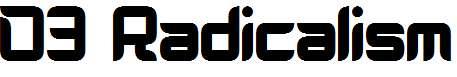 D3-Radicalism