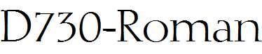 D730-Roman-Regular