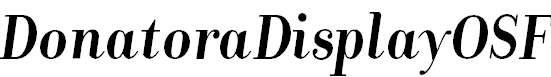 DonatoraDisplayOSF-BoldItalic