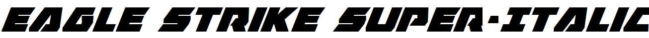 Eagle-Strike-Super-Italic