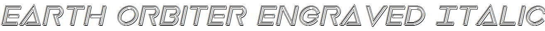 Earth-Orbiter-Engraved-Italic