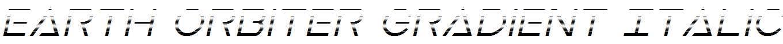 Earth-Orbiter-Gradient-Italic