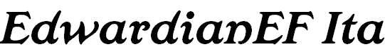 EdwardianEF-BoldIta