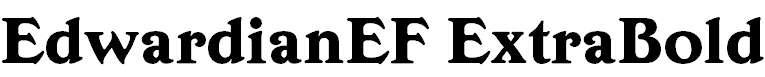 EdwardianEF-ExtraBold