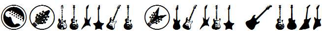 Electric-Guitar-Icons