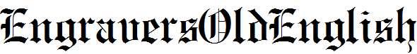 EngraversOldEnglish-Normal