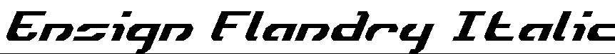 Ensign-Flandry-Italic