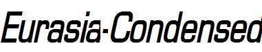 Eurasia-Condensed-Bold-Italic
