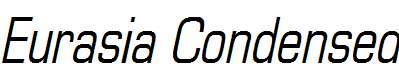 Eurasia-Condensed-Italic