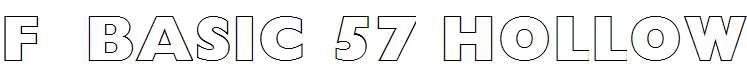 FZ-BASIC-57-HOLLOW
