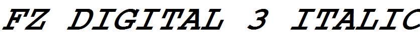 FZ-DIGITAL-3-ITALIC