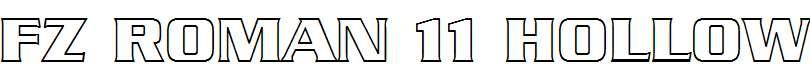 FZ-ROMAN-11-HOLLOW