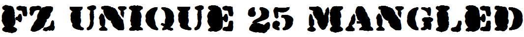 FZ-UNIQUE-25-MANGLED