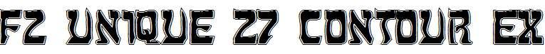 FZ-UNIQUE-27-CONTOUR-EX