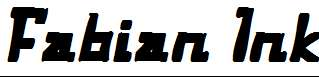 Fabian-Ink-Italic