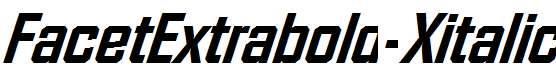 FacetExtrabold-Xitalic-Regular