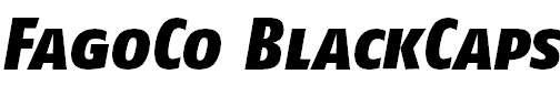 FagoCo-BlackItalicCaps