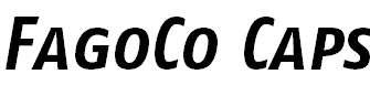 FagoCo-BoldItalicCaps