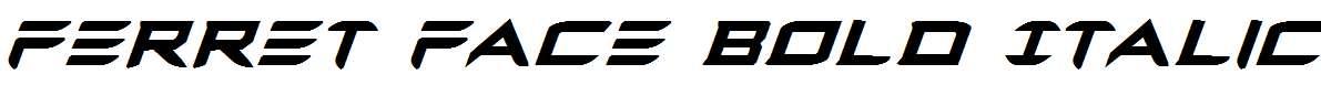 Ferret-Face-Bold-Italic