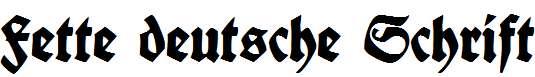 Fette-deutsche-Schrift