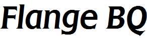 Flange-R-Italic