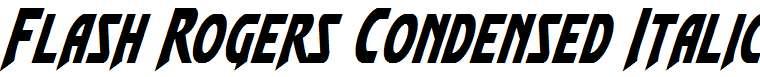 Flash-Rogers-Condensed-Italic