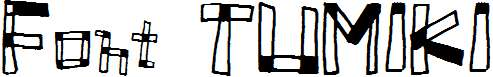 Font-TUMIKI