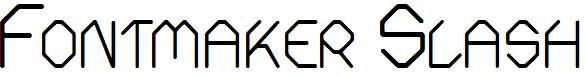 Fontmaker-Slash