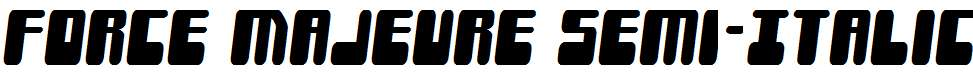 Force-Majeure-Semi-Italic