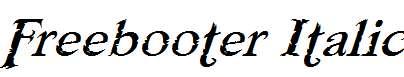 Freebooter-Italic