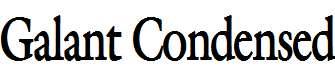 Galant-Condensed-Bold