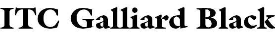 Galliard-Black